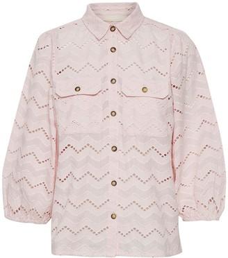 Karen By Simonsen - Primrose Pink Long Sleeved Shirt - 36