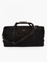 Saturdays Surf NYC Black Norfolk Weekend Bag