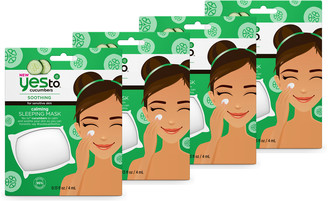 Yes To Cucumbers Calming Sleeping Mask 4 Pack