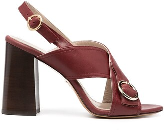 Tila March Sling-Back Block Heel Sandals