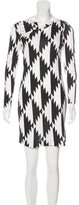 Diane von Furstenberg Silk Printed Dress