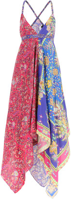 Etro Idra Dress Paisley Scarf Print
