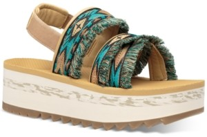 Teva Women's W Flatform Ceres Sandals Women's Shoes