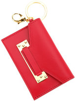 Sophie Hulme Milner micro cardholder keyring - women - Calf Leather - One Size