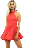 Reverse Last Call Dres in Red