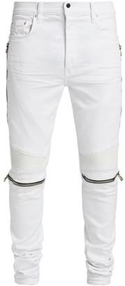 Amiri MX2 Zipper Skinny Jeans