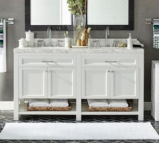 "Pottery Barn Piedmont 60"" Double Sink Vanity"