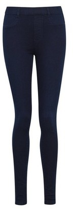 Dorothy Perkins Womens Blue 'Eden' High Waist Lightweight Jeggings With Organic Cotton, Blue