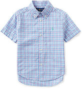 Ralph Lauren Little Boys 2T-7 Checked Poplin Shirt