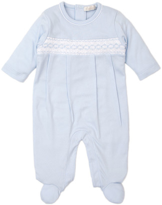 Kissy Kissy CLB Fall Blue Footie Playsuit, Size Newborn-9 Months