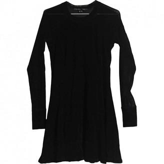 Theyskens' Theory Black Velvet Dress for Women