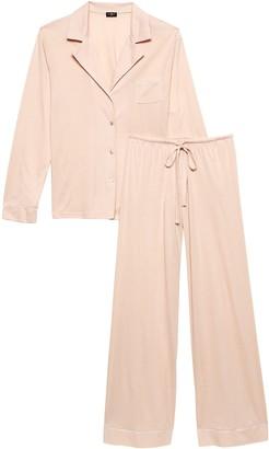 Banana Republic Cosabella | Bellita Long-Sleeve Pajama Pant Set
