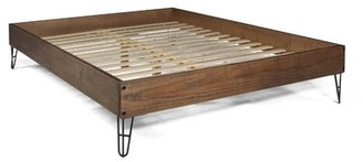 Grain Wood Furniture Montauk Queen Platform Bed Grain Wood Furniture Color: Rustic Walnut