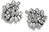 Tory Burch Kenneth Jay Lane For Embellished Cluster Earring