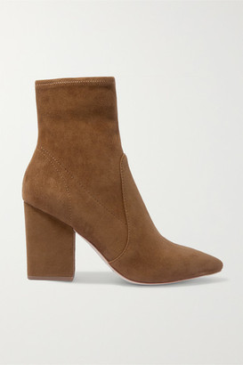 Loeffler Randall Isla Suede Ankle Boots - Brown