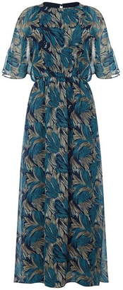 Yumi Floral Printed Maxi Dress