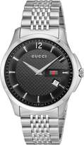 "Gucci Men's YA126309 ""G-Timeless"" Stainless Steel Watch"