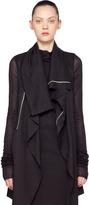 Opera Biker Lunga Jacket in Black