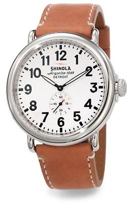 Shinola Runwell Stainless Steel Watch