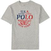 Ralph Lauren Boys 8-20 Eagle Graphic T-Shirt