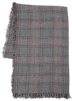 Faliero Sarti Prince Of Wales Silk & Wool Scarf