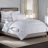 Barbara Barry Dream Peaceful Pique Fountain Pillow Shams in White