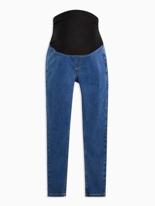 Topshop Maternity 30' Joni Jeans- Blue