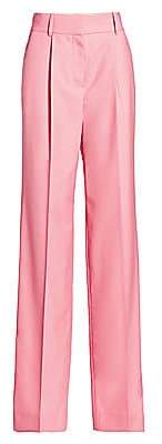 Givenchy Women's Masculine-Fit Wool Trousers