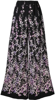 Ingie Paris Floral Print Trousers