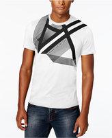 Armani Exchange Men's Right Side Up Graphic-Print Logo T-Shirt