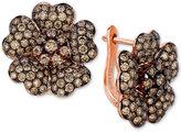 LeVian Le Vian Red Carpet Diamond Flower Stud Earrings (2-9/10 ct. t.w.) in 14k Rose Gold
