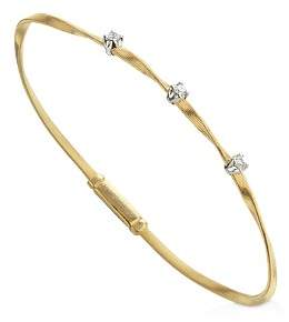 Marco Bicego Marrakech Bracelet in 18K Yellow Gold with Diamonds
