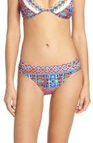 LaBlanca Women's La Blanca 'Corsica Tile' Hipster Bikini Bottoms