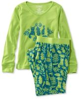 L.L. Bean Girls' Jersey Knit Pajamas