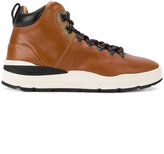 Woolrich panelled mountain boots