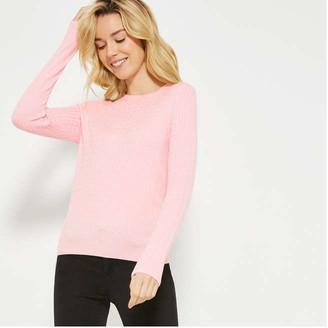 Joe Fresh Women's Cable Knit Sweater, JF Black (Size S)