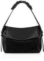 AllSaints Maya Leather Shoulder Bag