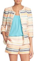 Trina Turk Nani Woven Stripe Jacket