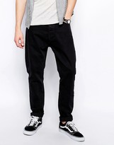 Weekday Jeans Monday Straight Fit Perfect Black