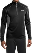 Spalding Impact High-Performance Pullover Shirt - Zip Neck, Long Sleeve (For Men)