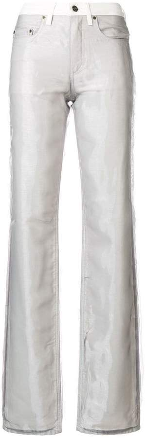 Y/Project Y / Project bootcut layered jeans