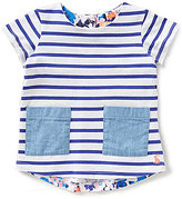Joules Baby/Little Girls 12 months-3T Ria Hotchpotch Striped-Floral Top