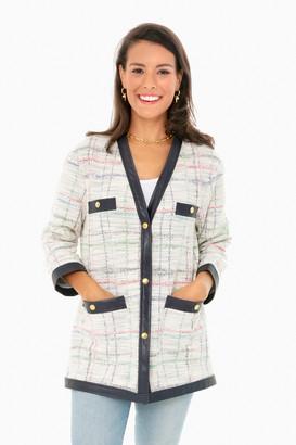 Oversized Tweed Cardigan Jacket