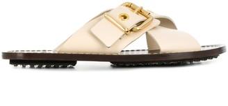 Marni Open-Toe Crisscross Sandals