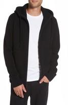 Vince Men's Front Zip Wool & Cashmere Hoodie