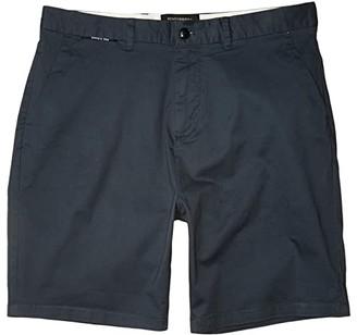 Scotch & Soda Mid Length - Classic Chino Shorts in Pima Cotton Quality (Military) Men's Shorts