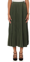Theory Women's Laire Crepe Skirt-GREEN