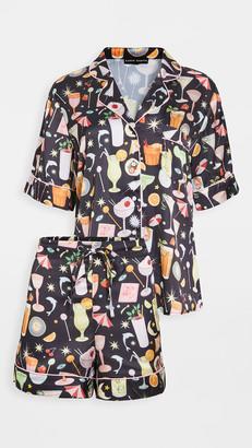 Karen Mabon Happy Hour Short Pajama Set