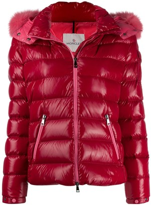 Moncler Padded Trimmed Jacket