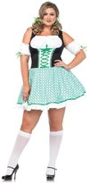 Leg Avenue Full Figure Plus Size Clover Cutie St. Patricks Day Dress Costume